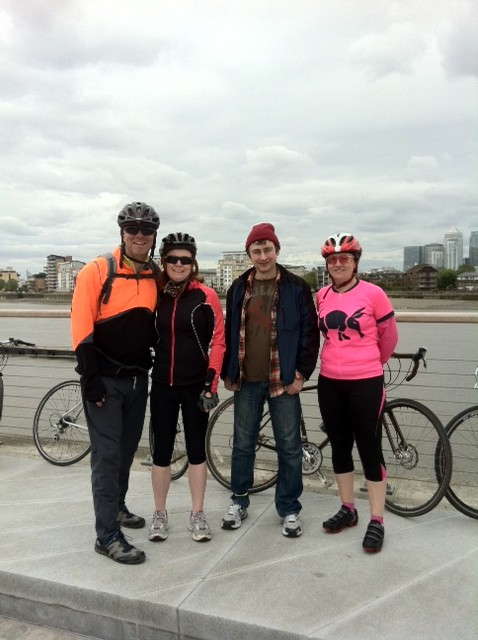 (Author: Neil) 4 intrepid riders made their way to Greenwich where the route follows the ravensbourne river and is largely on paths through SE London up to the river,in a very pleasant way. So the group went via the Railway Park,South Norwood Country Park and then followed the river at Cator Park and through lower Sydenham and Lewisham and Deptford to Greenwich and the Cutty Sark which looked resplendent and proud following its face lift…a quick coffee near the river and a quick sprint up Maze Hill and across Blackheath to the Princess of Wales […]